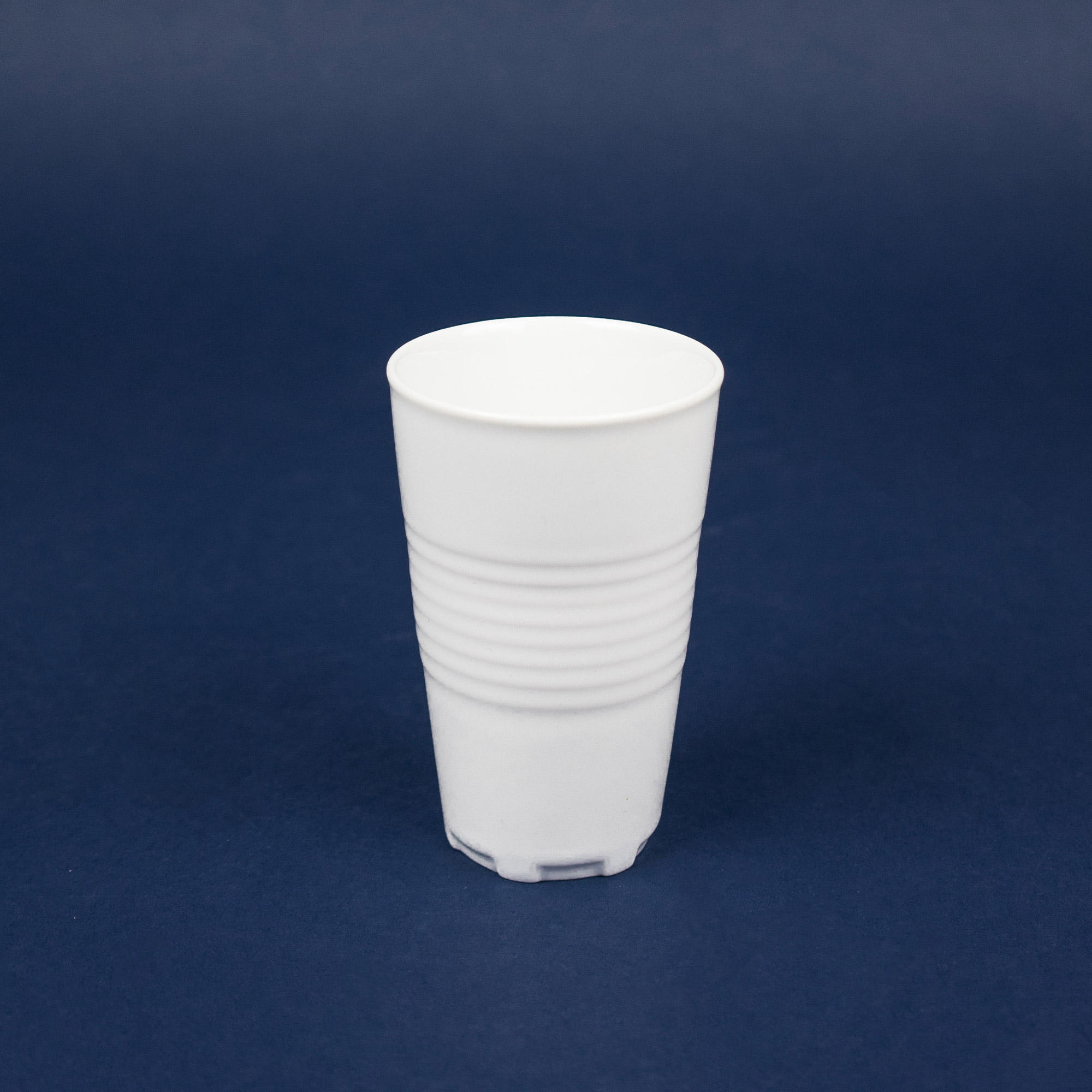 Back side of unique cup