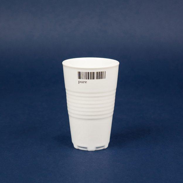 Porcelain cup unique design