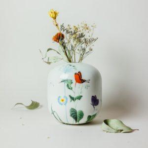 Handmade vase by Czech designer