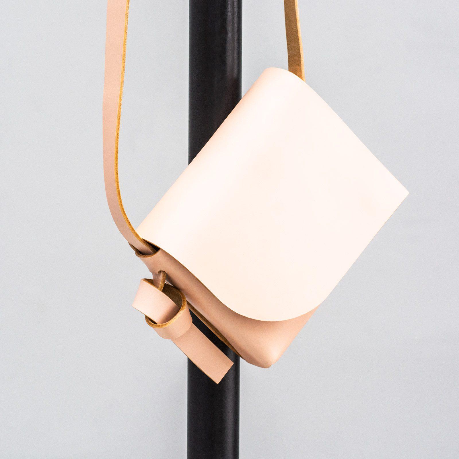 Powder leather bag handmade by PBG