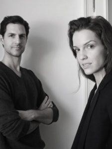 Verlain designer Veronika Studenlein and her husband Max.
