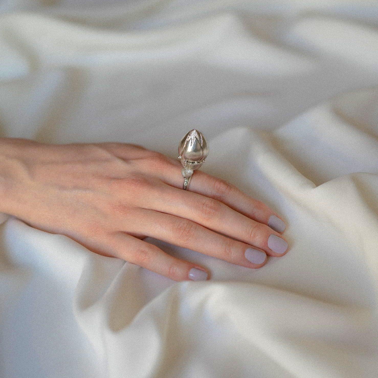 Janja Prokic silver puppet ring