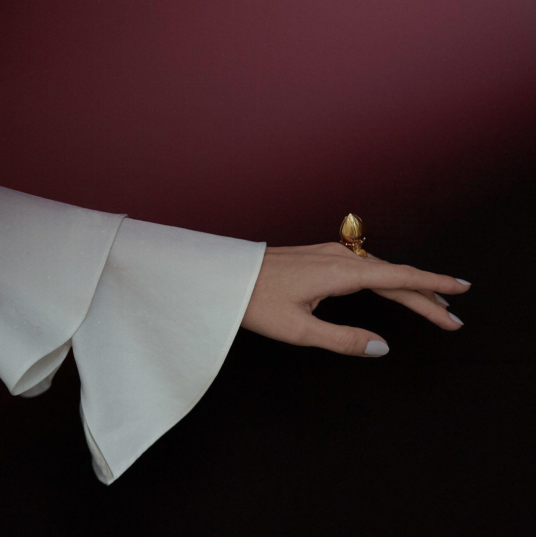 Gold ring pupen